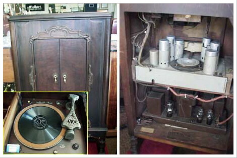 Antique Radio / Phonograph